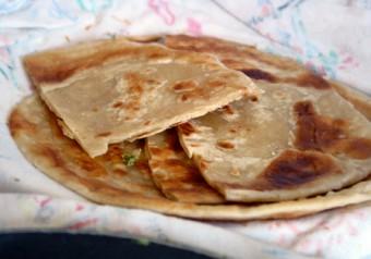 Ugandan Chapati Bread